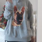 Unisex Džemperis su JŪSŲ augintinio portretu