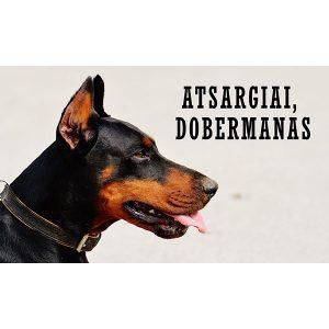 """Įspėjančioji lentelė """"Dobermanas 2"""""""